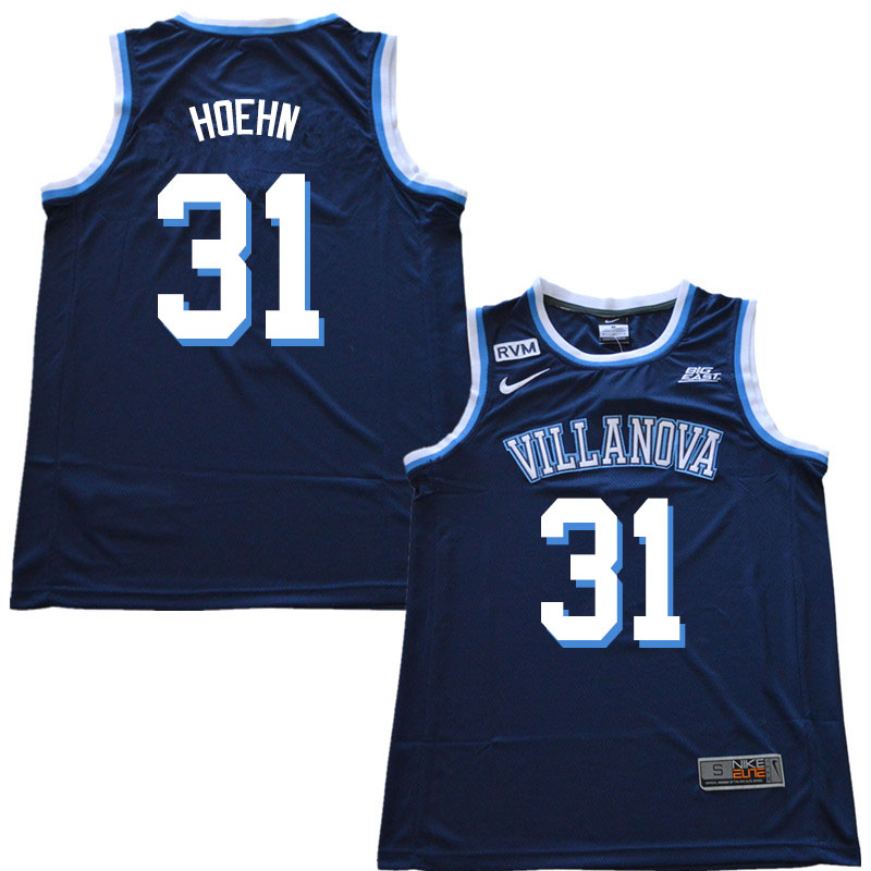 2019 Men #31 Kevin Hoehn Villanova Wildcats College Basketball Jerseys Sale-Navy