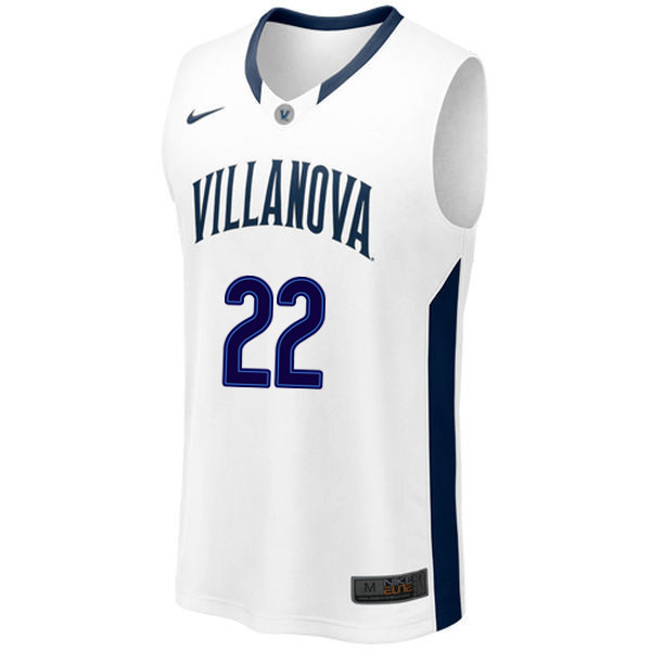 Men #22 Peyton Heck Villanova Wildcats College Basketball Jerseys Sale-White